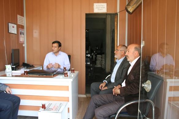 Başkan Akel'den teşekkür ziyaretleri