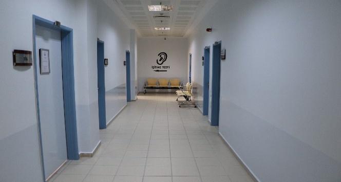 Kahta Devlet Hastanesi estetik bir görünüme kavuşuyor