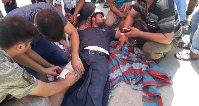 Kahta'ya Bağlı Narince Köyünde  Silahlı Kavga: 1 yaralı