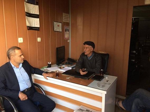 Başkan Çatan Gazetemizi Ziyaret Etti
