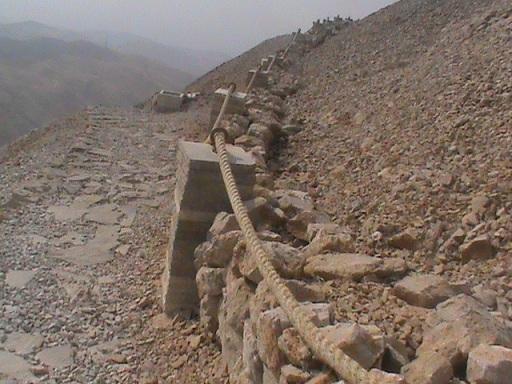 Nemrut Dağı Etrafı Taş Duvarla Örüldü