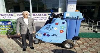 Kahta'yı robot filler temizleyecek