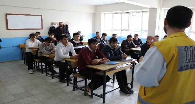Kahta'da öğrencilere meslek tanıtımı yapıldı