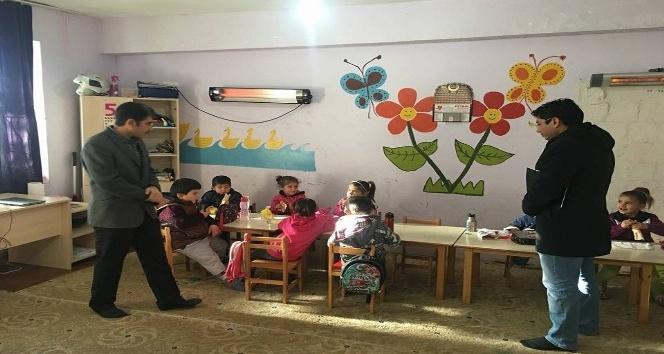 Milli eğitim şube müdürleri köy okullarını denetledi