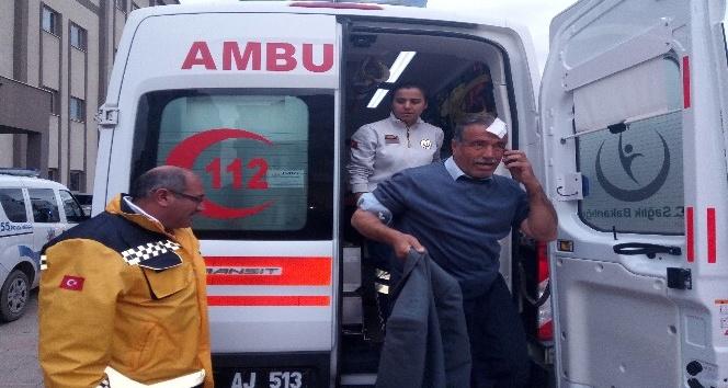 Kahta ilçesinde trafik kazası: 4 Yaralı