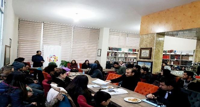 Kahta'da Diriliş Kitap Kafe'ye Her gün İlgi Büyüyor