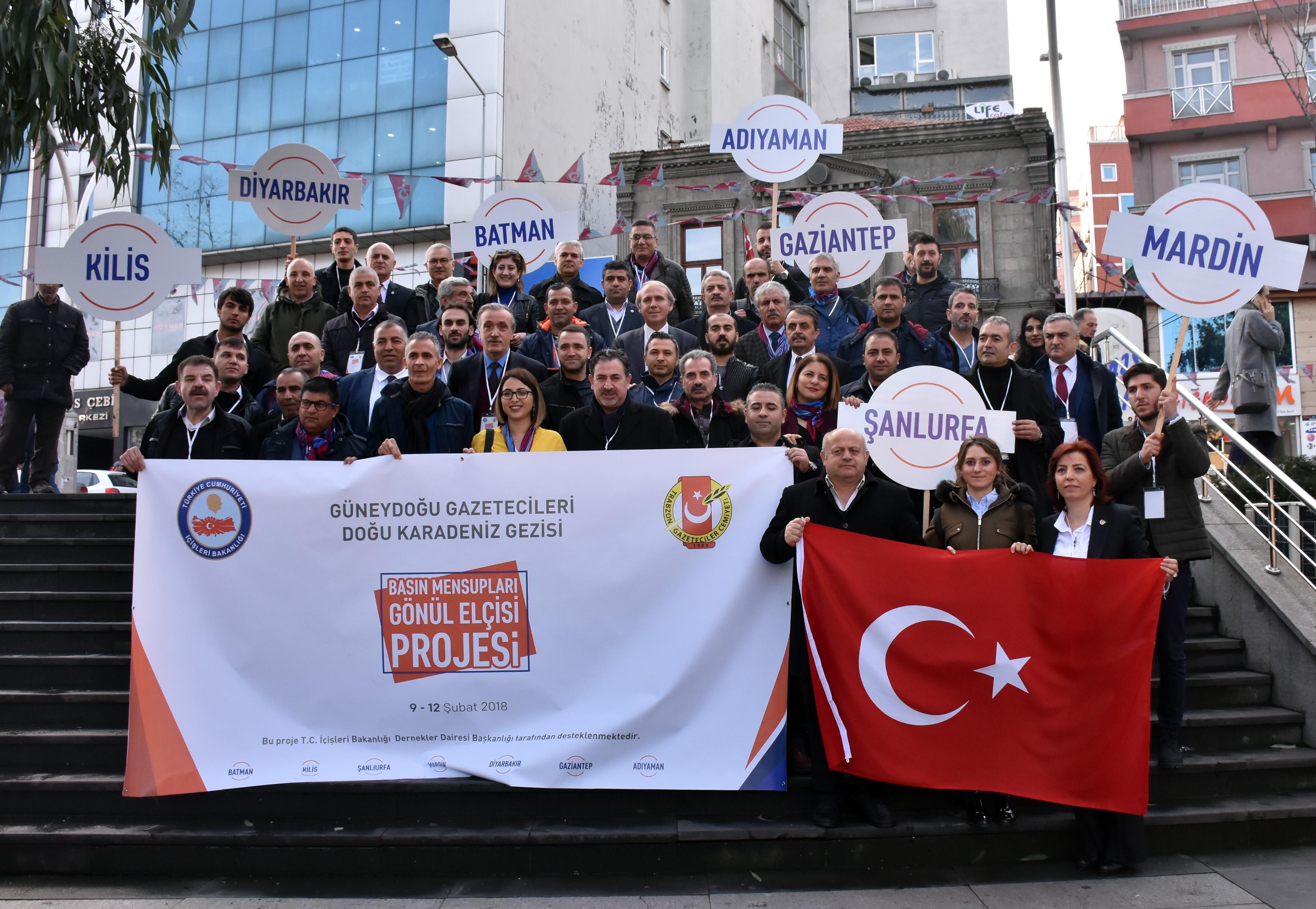 Trabzon'da Karadeniz İle Güneydoğu Kardeşliği Pekiştirildi