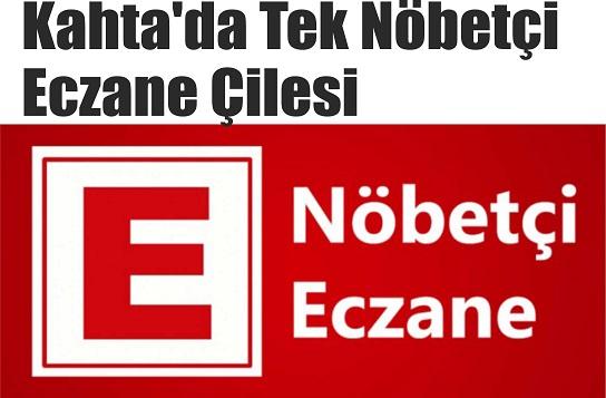 Kahta'da Tek Nöbetçi Eczane Çilesi