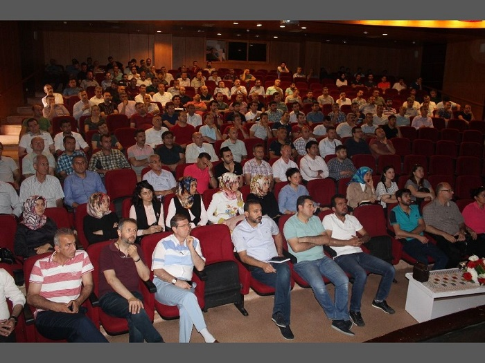İlk Kez Kahta'da ÖSYM Sınavları İçin koordinasyon Çalışması Yapıldı