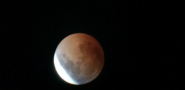 Yüzyılın en uzun 'Ay tutulması' Amatör Gözlemciler Tarafından Görüntülendi