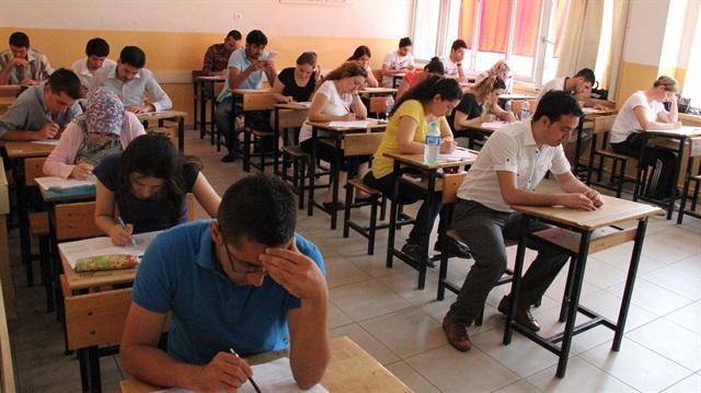 Kahta'da İlk Defa KPSS Sınavı