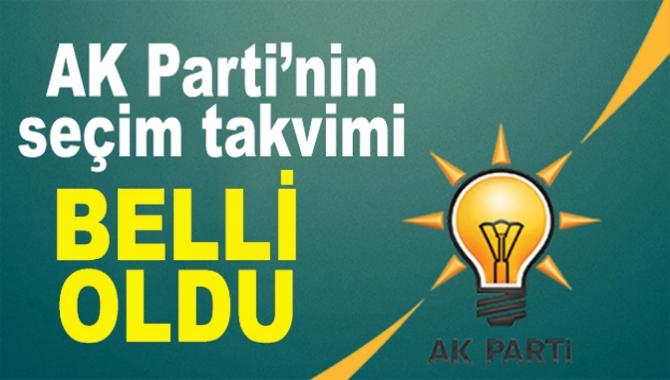 AK Parti'nin Aday Adaylığı Müracaatları 5-12 Kasım Arası