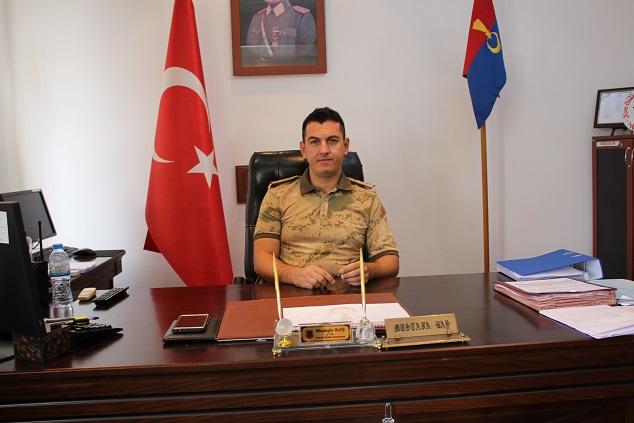 Kahta Jandarma Komutanı Göreve Başladı.