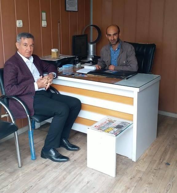 Kahta Belediye Başkan Aday Adayı Çakmak; Gazetemizi Ziyaret Etti