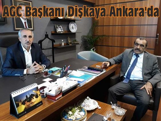 AGC Başkanı Dişkaya Ankara'da