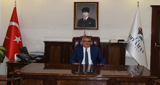 Vali Aykut Pekmez'in göreve başlama mesajı