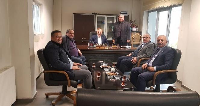 Aksaray'dan gelen heyet Başkan Fırat ile bir araya geldi