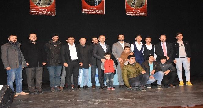 Kahta'da 'Mekke'nin Fethi' konferansı düzenlendi