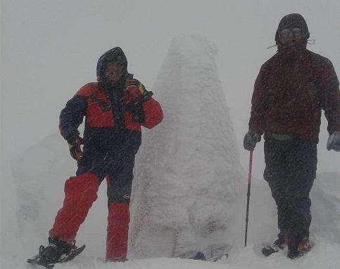 Eksi 22 Derecede Nemrut Dağı'na Tırmandılar
