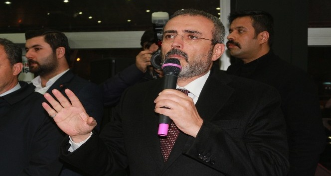 AK Parti Genel Başkan Yardımcısı Mahir Ünal,