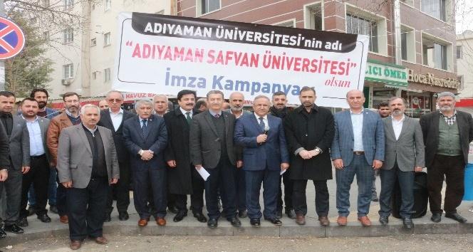 Adıyaman Üniversitesinin isminin değişmesi için imza kampanyası başlatıldı