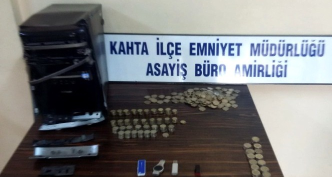 Okul kantininden hırsızlık yapan şahıslar tutuklandı