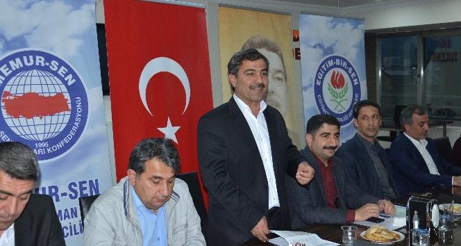 'Eğitim Çalışanlarının Sorunları ve Çözüm Önerileri' çalıştayı düzenlendi