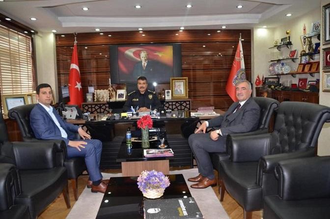 Başkan TURANLI, İl Emniyet Müdürünü Ziyaret Etti