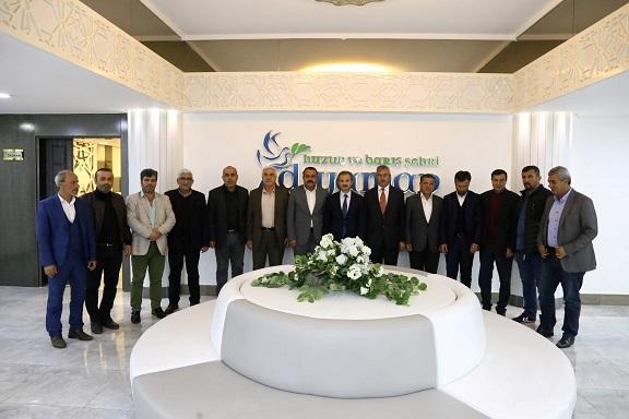 Kahta ve Sincik AK Parti Teşkilatından, Başkan Kılınç'a Hayırlı Olsun Ziyareti