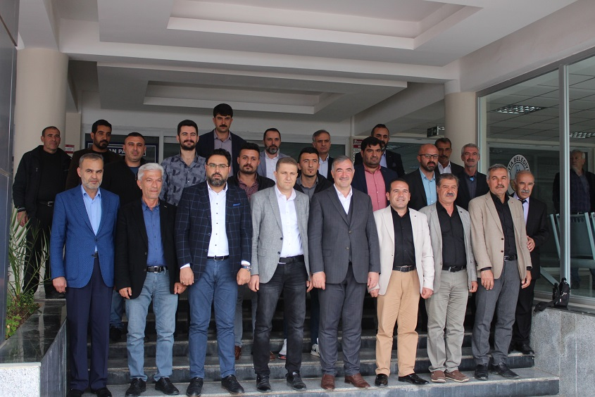 Kahtaspor Yönetimi Başkan TURANLI'ya Hayırlı Olsun Ziyaretti