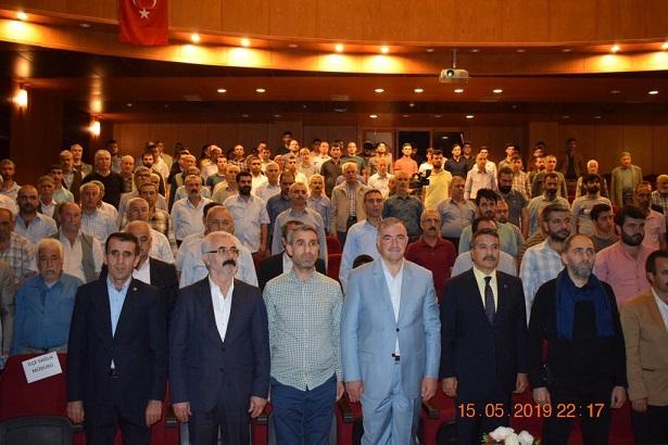 Şair, Müzisyen, Sanatkar, Ressam, Polis Olan Ahmet Sula Kahta'da Konferans Verdi