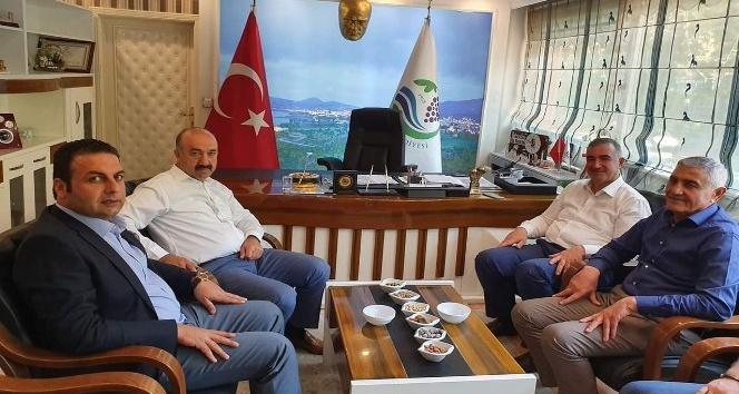 Başkan Turanlı Başkan Yıldırım ile bir araya geldi