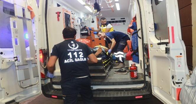 Havalimanında korkutan kaza: 4 yaralı