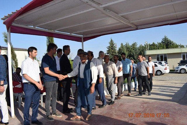 Dengir Mir Mehmet Fırat İçin Mevlit Okutuldu