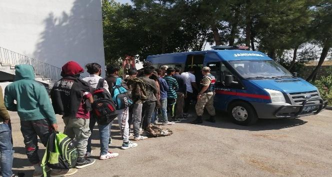 Adıyaman'da kaçak göçmen operasyonu