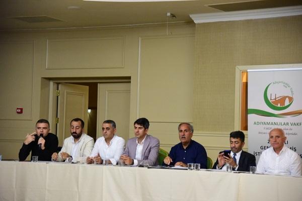 Adıyamanlılar Vakfı İstişare İçin Alanya'da Toplandı