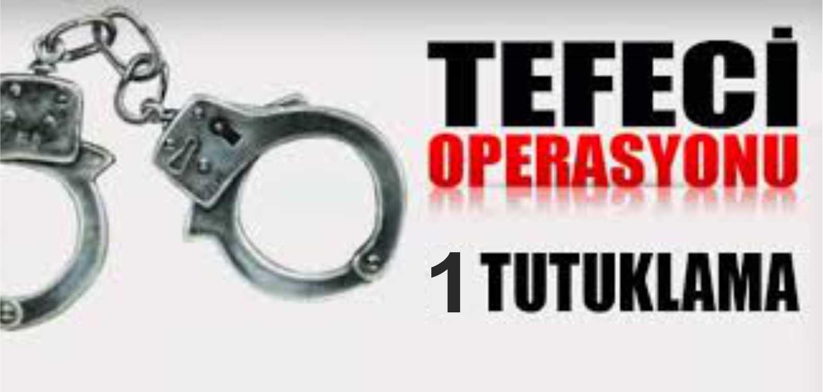 Adıyaman'da Polislikten ihraç edildi tefecilikten tutuklandı