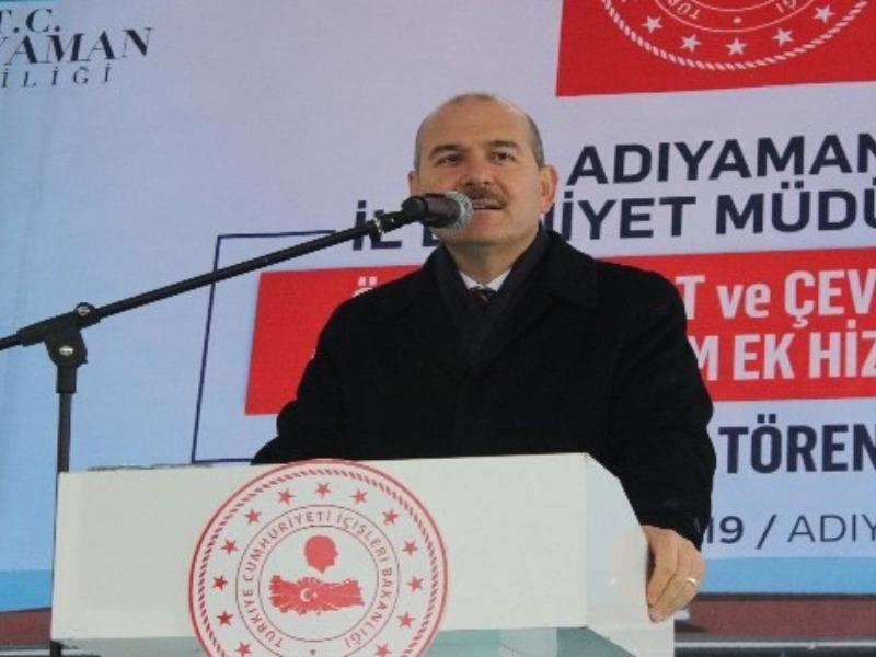 """Bakan Soylu: """"Yemin olsun Ortadoğu'ya barış ve huzuru getireceğiz"""""""