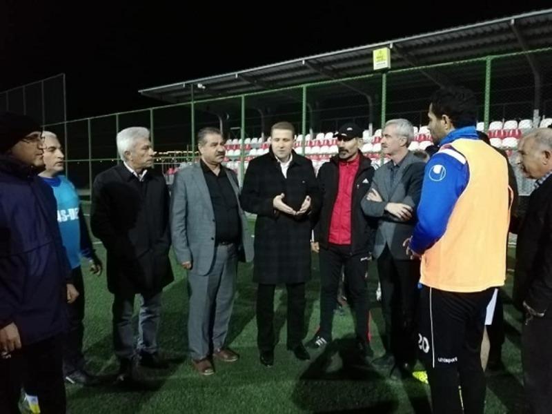Kahtaspor Kulübünden MASDER'e Ziyaret