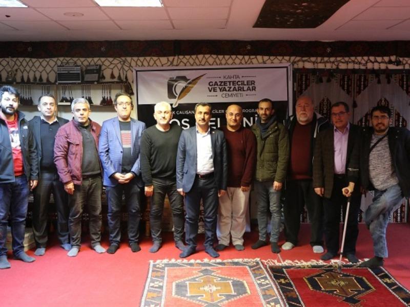 """Kahta'da """"10 Ocak Çalışan Gazeteciler Günü"""" Etkinliği Düzenlendi"""