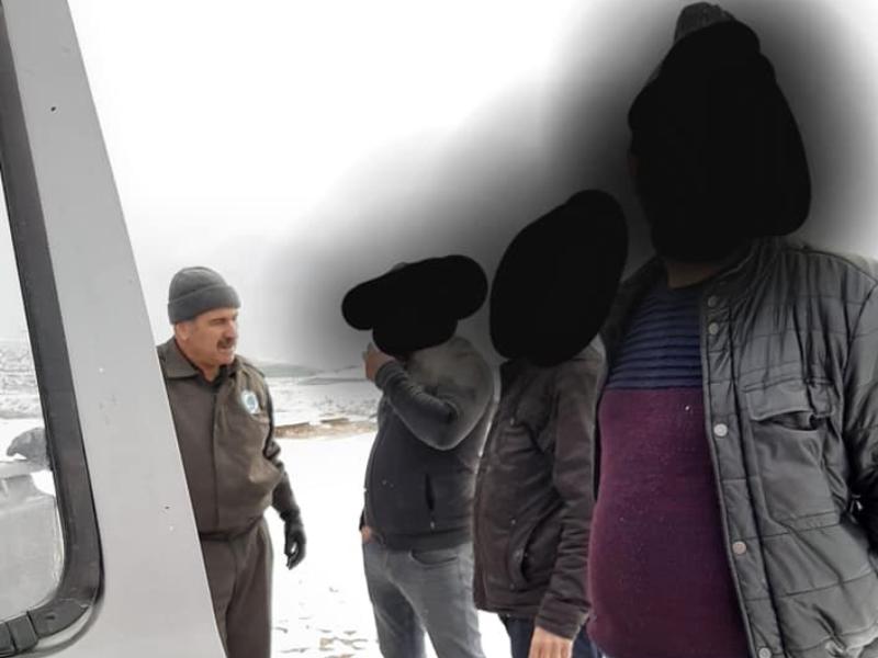 Kahta'da Kaçak avcılar yakalandı