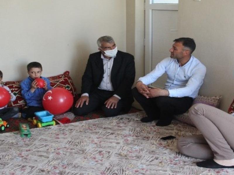 Kahta Belediyesi Salan ailesine sahip çıktı