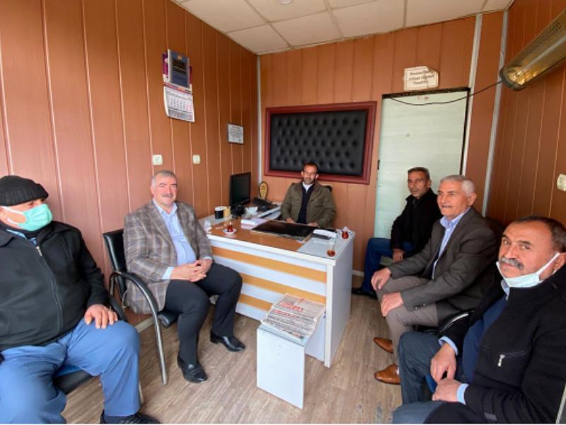 """Başkan TURANLI'dan """"Çalışan Gazeteciler Günü"""" Ziyaretti"""