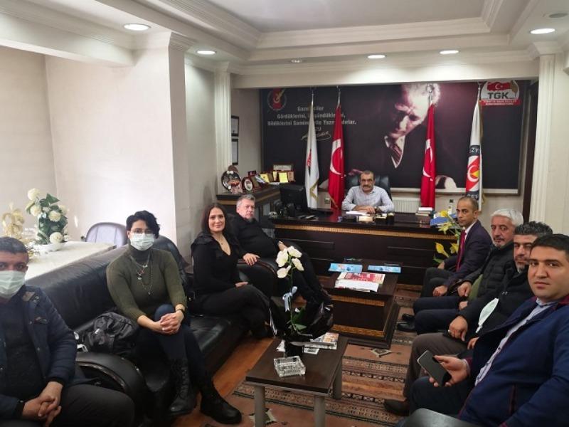 İnternet Gazetecileri Federasyonu ile AGC arasında istişare toplantısı