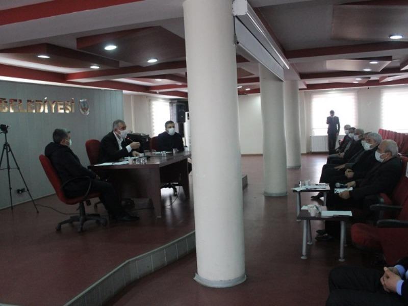 Kahta Belediyesi Şubat Ayı 2. Birleşim Toplantısı Yapıldı