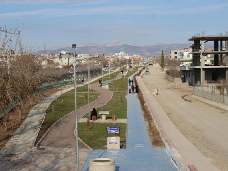 Kahta'da Yeni Yapılan Parka Kasti Bir Saldırı mı Yapıldı ?