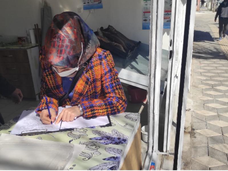 Kahta Tarım Müdürlüğü Ekipleri Balıkçı Esnafını Denetledi