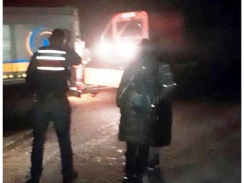 Nemrut Dağın'da tipiye yakalanan yabancı turistler kurtarıldı