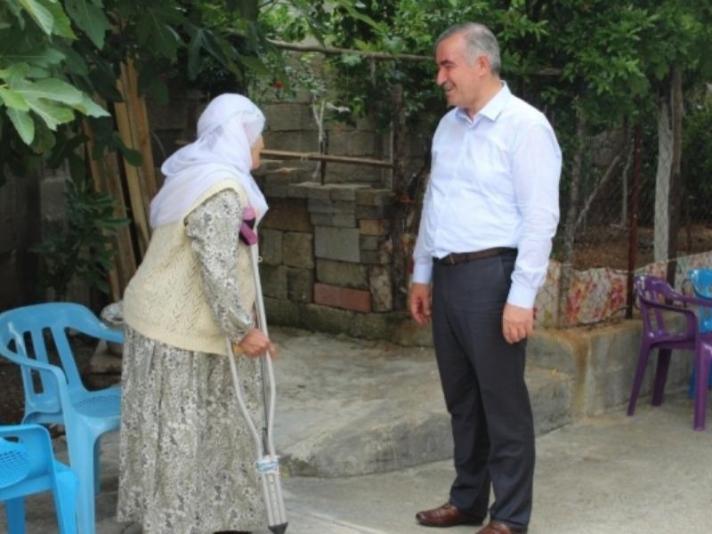 Turanlı'dan Yaşlılara Saygı Haftası mesajı